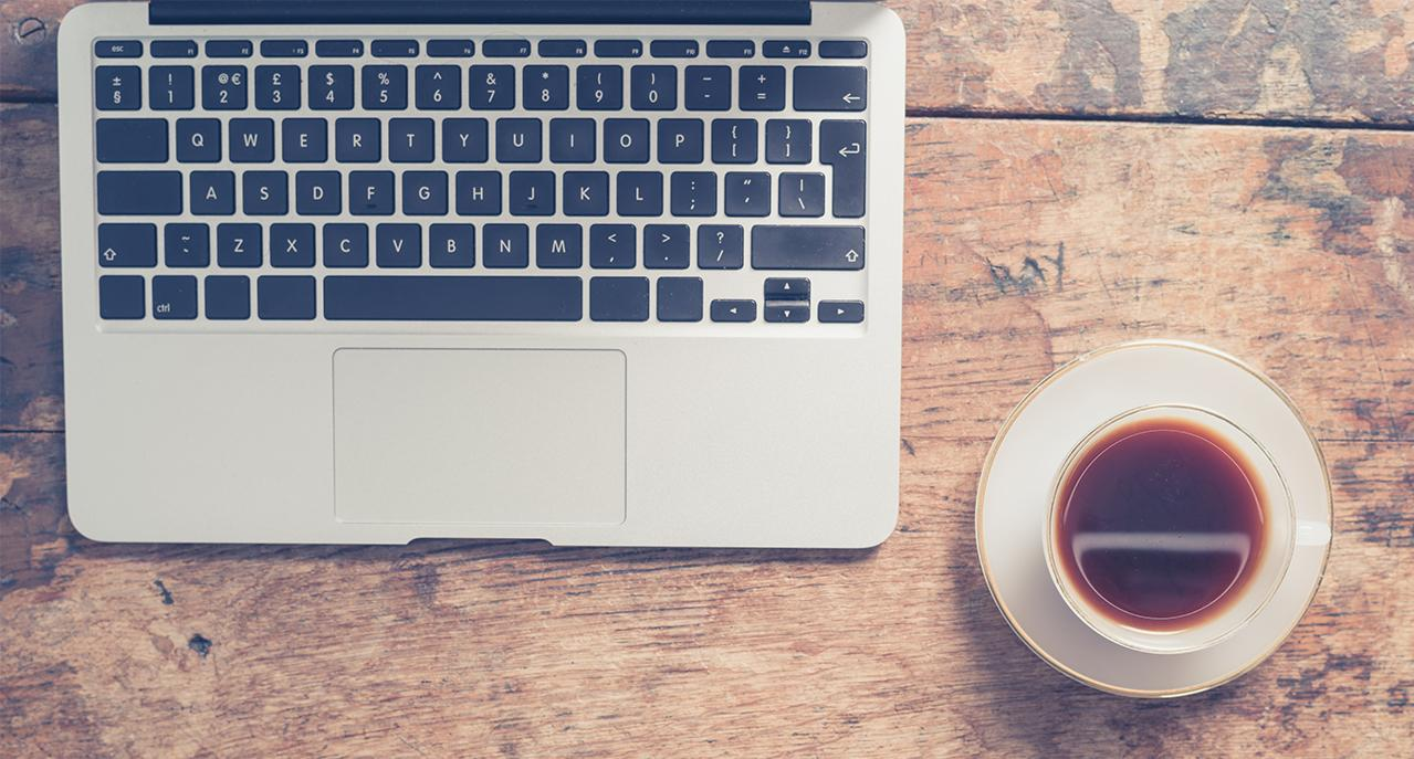 content marketing education, a cup of content