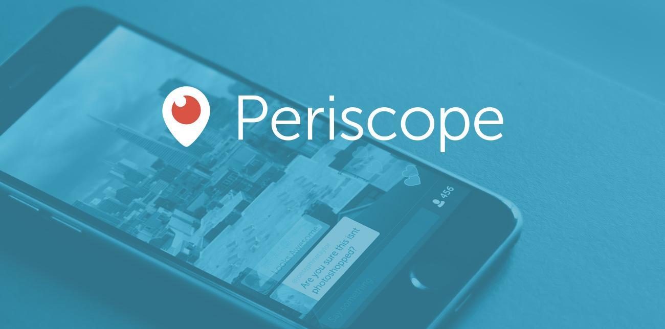 The awesomeness that is Periscope